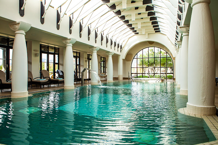 The pool area at Santé Wellness Retreat & Spa.