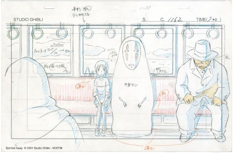 「吉卜力動畫手稿展」明年1月登台–神隱少女  天空之城  魔法公主 原稿來台展出