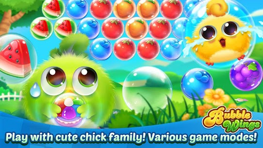Bubble Wings: offline bubble shooter games 6