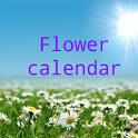 Flower calendar (free) icon