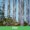 Bamboo Forest 3D Live Wallpaper Free icon