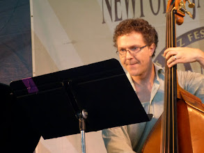Photo: Stephan Crump with Veejay Iyer Sextet