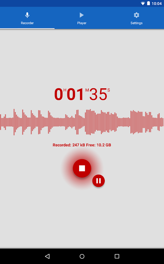 Voice Recorder- screenshot