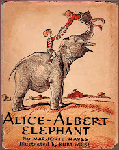 Photo: Alice-Albert Elephant.  Marjorie Hayes (author), Little Brown, 1938.