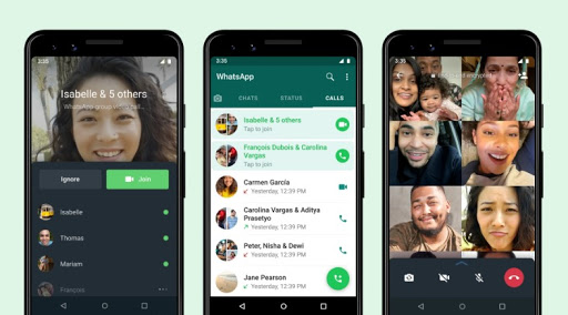 WhatsApp now lets you join group calls while they are in progress