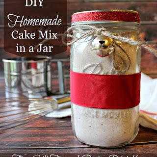 Homemade Cake Mix.