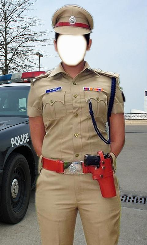 Women police photo suit- screenshot