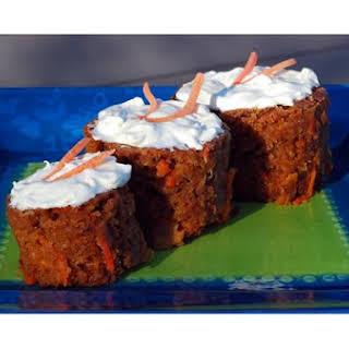 Pineapple Carrot Raisin Spice Cake.