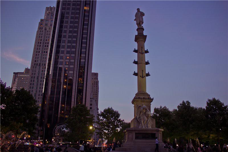 Памятник Колумбу. США глазами туриста, туризм, факты