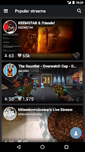 stream.me - Live Streams screenshot 1