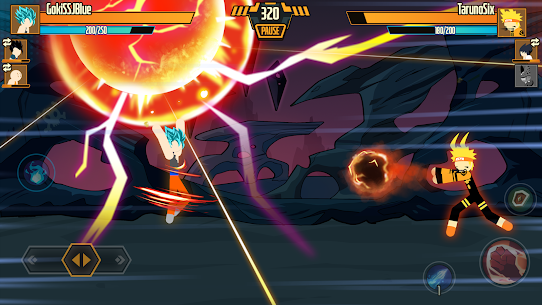 Stickman Dragon Fight Mod Apk 1.1.4 (High Defense) 3