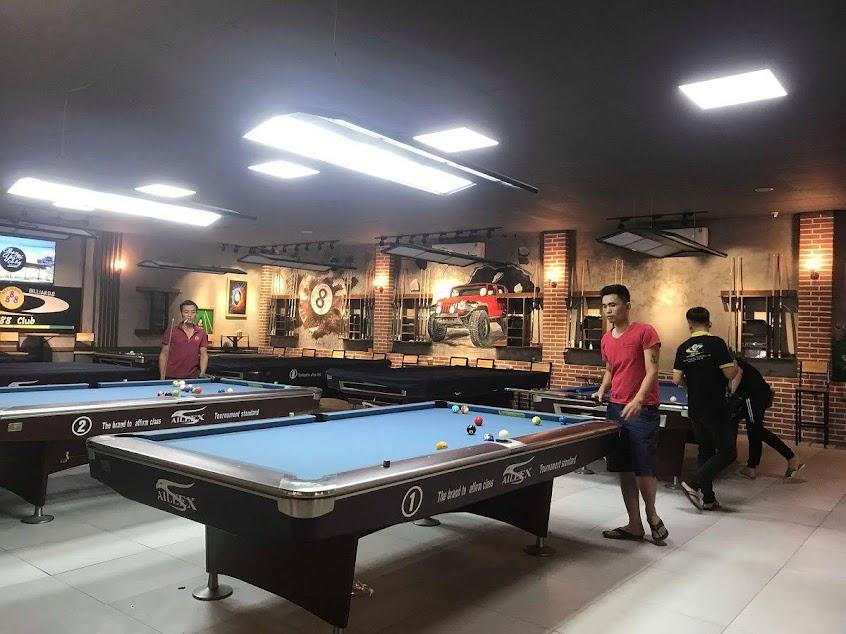 thiết kế thi công quán billiards chuyên nghiệp