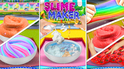 DIY Slime Maker Game! Fluffy Squishy Stretchy ASMR for PC