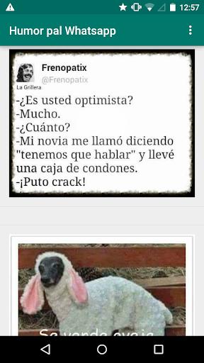Humor pal Whatsapp