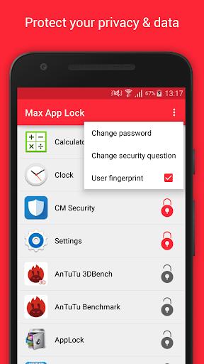 Max App Lock with Fingerprint screenshot 2