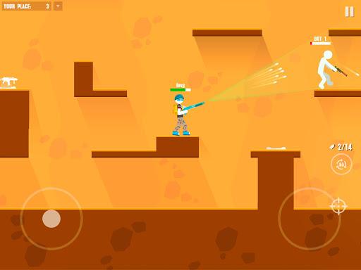 Stickman Battles: Online Shooter 1.0 screenshots 8