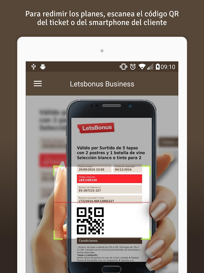 LetsBonus Business- screenshot
