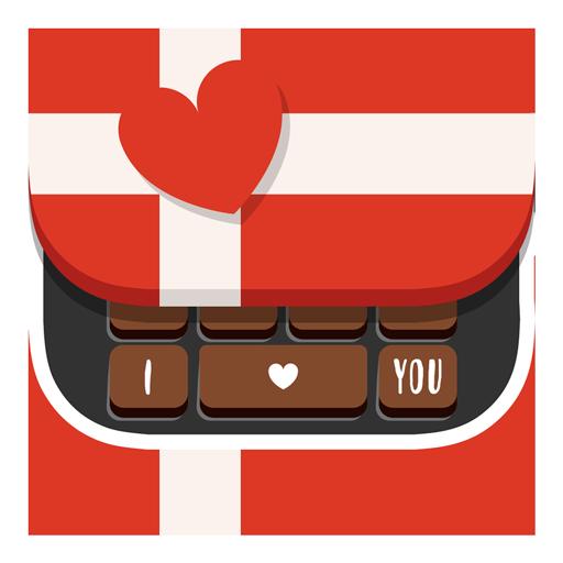 San Valentino Sticker Keyboard