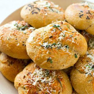 Parmesan Garlic Rosemary Knots