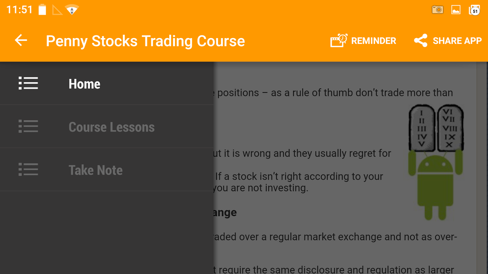 Penny Stocks - Trading Course- screenshot