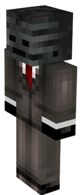 a skin of minecraft very funy