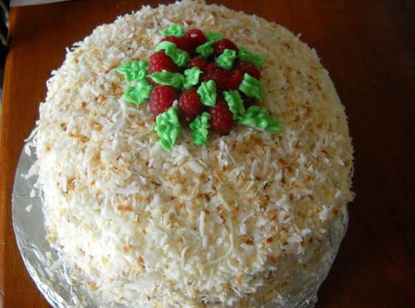 Coconut Raspberry Cake Recipe