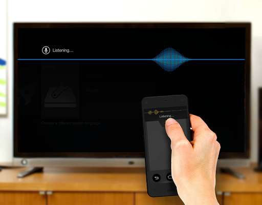 Amazon Fire TV Remote App Screenshot