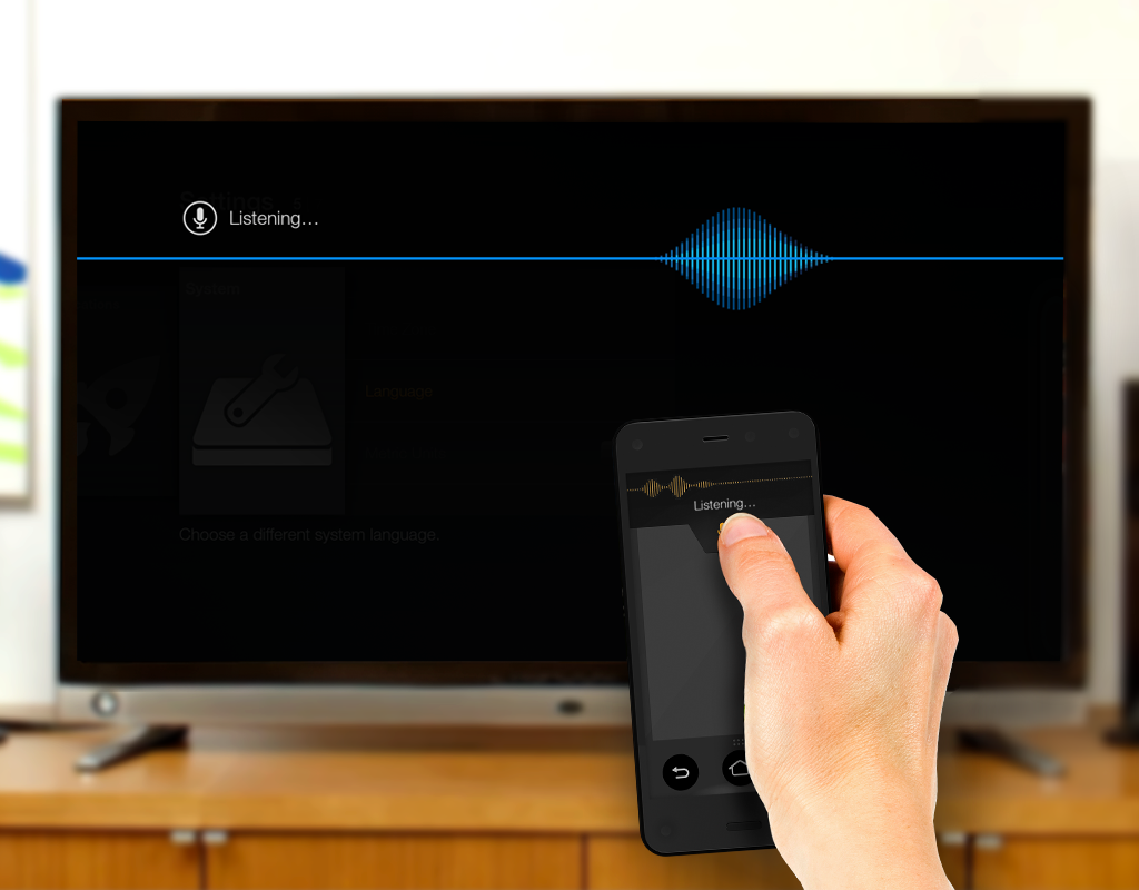 Amazon Fire TV Remote App- screenshot
