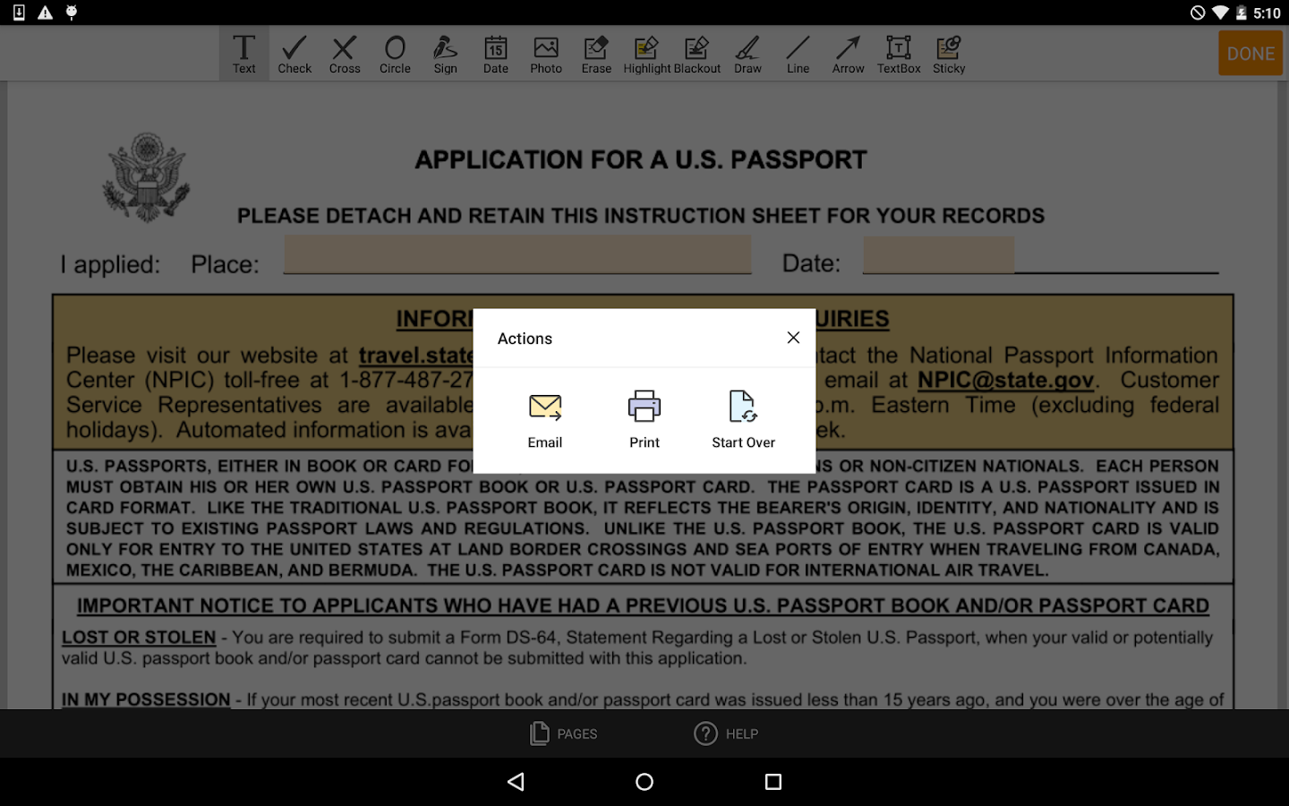 Ds 11 form android apps on google play ds 11 form screenshot falaconquin