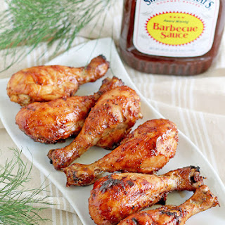 BBQ Chicken Drumsticks.