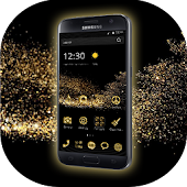 Gold Theme for Huawei Samsung