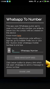 WApp To Any Number - náhled