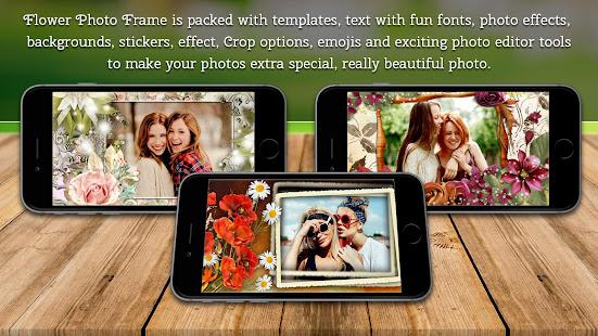Flower Photo Frames אפליקציות ב Google Play