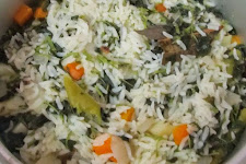 Amaranth Leaves Biryani