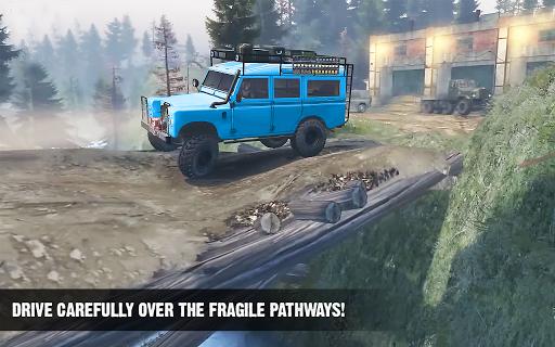 Offroad Cruiser Tough Driving 4x4 Simulation Game 1.0 Mod screenshots 5