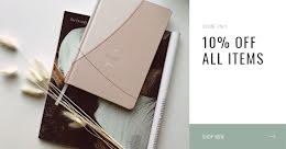 10% Off All Items - Facebook Ad item