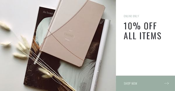 10% Off All Items - Facebook Ad Template