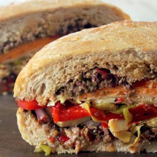 Vegetarian Muffuletta