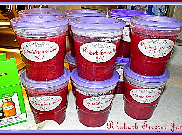 Here is my link to make your own Rhubarb Freezer Jam, which all you...