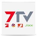 7TV | Mediathek, TV Livestream icon