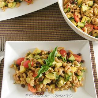 Zesty Vegetable Pasta Salad