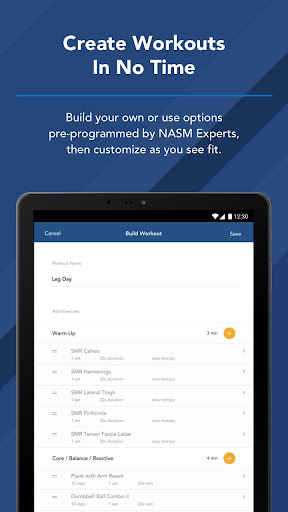 NASM Edge screenshot 12
