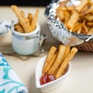 Baked Jicama Fries Recipe