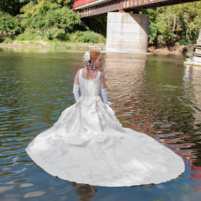 Stacey 01 by Carter Keith - Wedding Bride ( rock the frock, brides, wet bride, wedding dress, wet and messy, trash the dress )