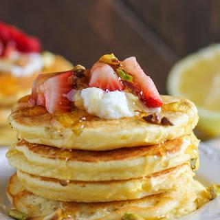 Lemon Ricotta Coconut Flour Pancakes