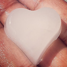 Ice Heart by Abhisek Datta - Artistic Objects Other Objects ( love, heart, ice )