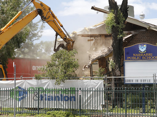 Narrabri Public School old administration block demolition