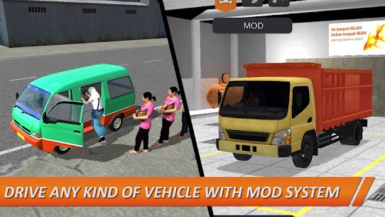 Bus Simulator Indonesia MOD (Unlimited Money) 6