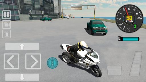 Police Motorbike Driving Simulator apktram screenshots 6