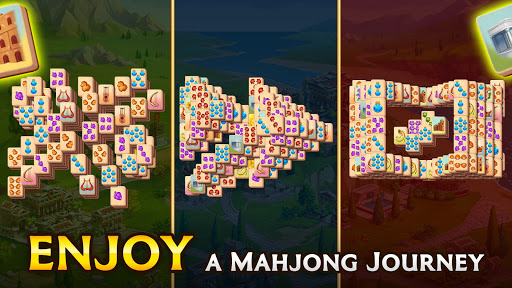 Emperor of Mahjong: Match tiles & restore a city filehippodl screenshot 11